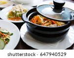 delicious vietnamese seafood... | Shutterstock . vector #647940529