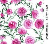 watercolor seamless pattern....   Shutterstock . vector #647947525