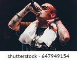 moscow 2 october 2014 big... | Shutterstock . vector #647949154