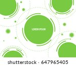 abstract background with... | Shutterstock . vector #647965405