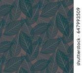 Seamless Leaf Pattern....