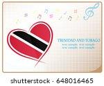 heart logo made from the flag...   Shutterstock .eps vector #648016465