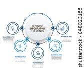 infographic elements vactor | Shutterstock .eps vector #648023155
