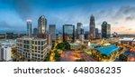 charlotte  north carolina  usa... | Shutterstock . vector #648036235