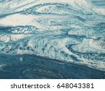 blue and white marble stone... | Shutterstock . vector #648043381