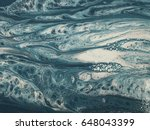 blue and white marble stone... | Shutterstock . vector #648043399