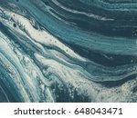 blue and white marble stone... | Shutterstock . vector #648043471