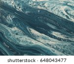blue and white marble stone... | Shutterstock . vector #648043477