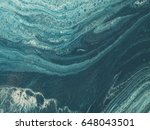 blue and white marble stone... | Shutterstock . vector #648043501