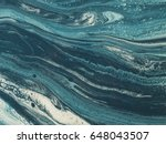 blue and white marble stone... | Shutterstock . vector #648043507
