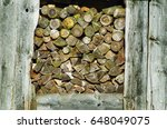 Firewood In The Old Woodshed  ...