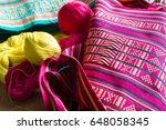 sikkim traditional handicraft | Shutterstock . vector #648058345