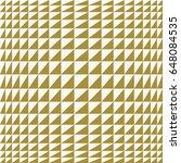 op art vector background of... | Shutterstock .eps vector #648084535