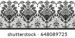 seamless lace. all elements and ... | Shutterstock . vector #648089725