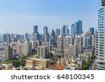 a bird's eye view of nanjing... | Shutterstock . vector #648100345