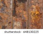 rusty background texture. | Shutterstock . vector #648130225