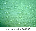 water drops on the outside of a ... | Shutterstock . vector #648138