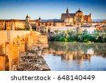 cordoba  spain. roman bridge on ...   Shutterstock . vector #648140449