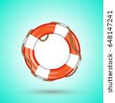 life buoy | Shutterstock .eps vector #648147241