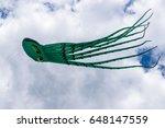 Huge  Octopus Kite Flying In...