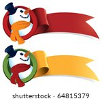 A Snowman Christmas Ribbon....