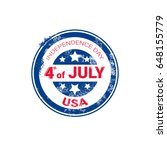 united states independence day... | Shutterstock .eps vector #648155779
