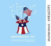 united states independence day... | Shutterstock .eps vector #648162391