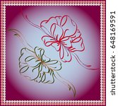 set hand drawn bows isolated on ...   Shutterstock .eps vector #648169591