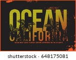 surf t shirt graphic | Shutterstock .eps vector #648175081