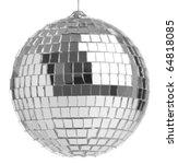 closeup of a mirrorball on a... | Shutterstock . vector #64818085
