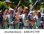 guadalajara  spain   may 27 ... | Shutterstock . vector #648191749