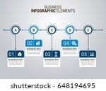 infographics elements | Shutterstock .eps vector #648194695