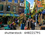 neal s yard  london  uk  ... | Shutterstock . vector #648221791