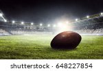 american football arena. mixed... | Shutterstock . vector #648227854