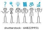 solving process  generator... | Shutterstock .eps vector #648229951