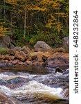 autumn landscape | Shutterstock . vector #648232864