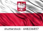 Stock photo polish flag 648236857