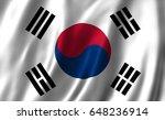 south korea flag | Shutterstock . vector #648236914