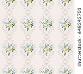 vector seamless pattern with... | Shutterstock .eps vector #648242701