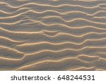 perfect texture of sand waves....   Shutterstock . vector #648244531