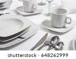 tableware | Shutterstock . vector #648262999
