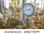 pressure gauge for monitoring... | Shutterstock . vector #648274099