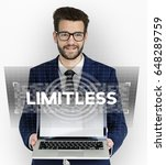 Small photo of Limitless Time Unlimited Infinity Ability Graphic