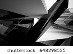 abstract white interior of the... | Shutterstock . vector #648298525