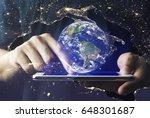 satellite signal  hologram ai...
