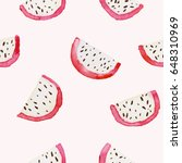 vector seamless pattern with... | Shutterstock .eps vector #648310969