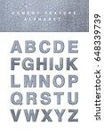 crack cement alphabet blocks... | Shutterstock . vector #648339739