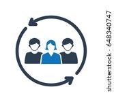 target customer icon   Shutterstock .eps vector #648340747