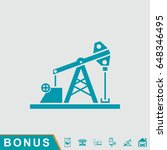 oil pump jack icon