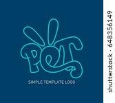 cartoon logo concept | Shutterstock .eps vector #648356149